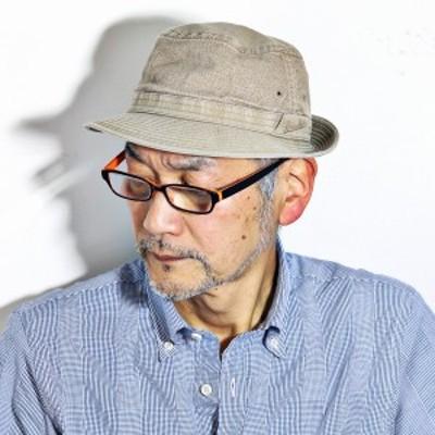ハット メンズ 帽子 アルペンハット コットン ボルサリーノ borsalino ウォッシャブル 涼しい帽子 カーキ