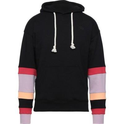 J.W.アンダーソン JW ANDERSON メンズ スウェット・トレーナー パーカー トップス hooded sweatshirt Black