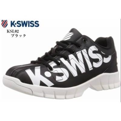 K-SWISS (ケースイス)KSL02 BL エバータイプ カジュアルコートスニーカー K-SWISS 90年代を代表するEVER/エバーの復刻アレンジモデル