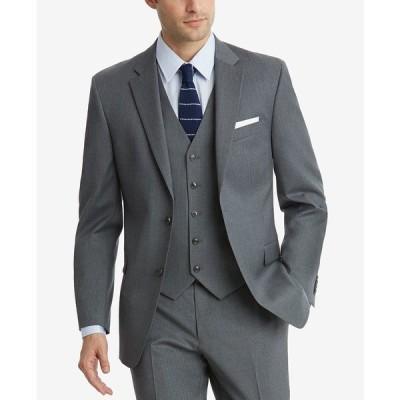 トミー ヒルフィガー ジャケット&ブルゾン アウター メンズ Men's Modern-Fit TH Flex Stretch Suit Jackets Grey