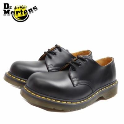 ドクターマーチン 国内正規品 ローカット ブーツ ブラック 黒 3ホール Dr.Martens 1925Z DMS 3HOLE STEEL BLACK FINE HAIRCELL