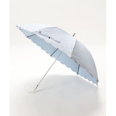 MOONBAT / 晴雨兼用日傘 シャンブレー WOMEN ファッション雑貨 > 長傘