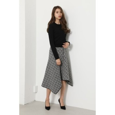 Knit Tweed J/W Flare SK