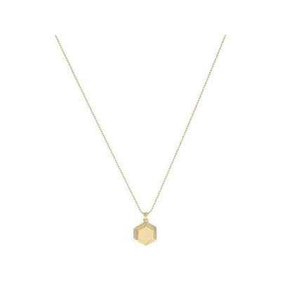Madewell Market Hex Locket Necklace レディース ネックレス Vintage Gold