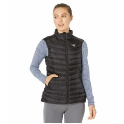 アークテリクス レディース コート アウター Cerium LT Vest Black 1