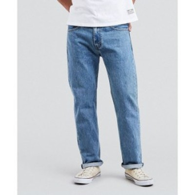 リーバイス メンズ デニムパンツ ボトムス Levi'sR 505 Regular Fit Rigid Jeans Light SW 37749