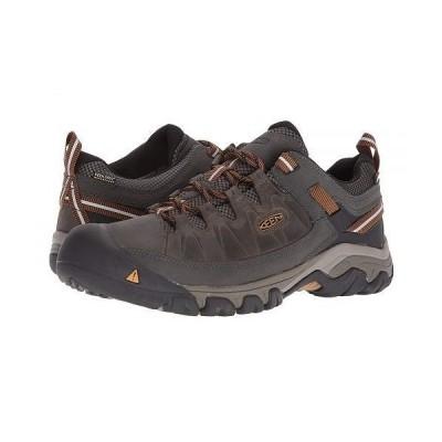 Keen キーン メンズ 男性用 シューズ 靴 スニーカー 運動靴 Targhee III Waterproof - Black Olive/Golden Brown