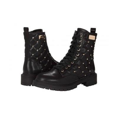Bebe べべ レディース 女性用 シューズ 靴 ブーツ レースアップ 編み上げ Dorrine-B - Black