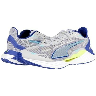 プーマ UltraRide メンズ スニーカー 靴 シューズ Gray Violet/Elektro Blue