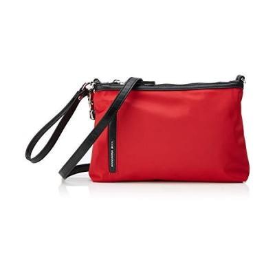 Mandarina Duck Women's Hunter Cross-Body Bag, Red (Rosso/Mara Red), 10x21x28.5 cm (B x H x T) 並行輸入品