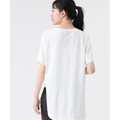 ラウンドビッグシルエットTシャツ