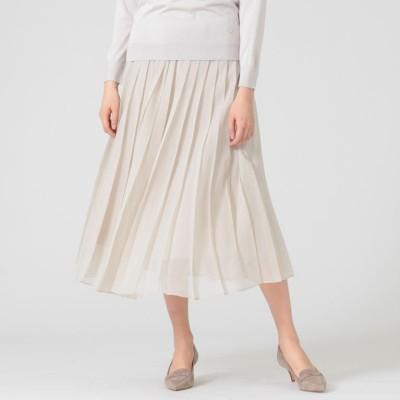 ソフトオーガンジースカート