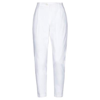 オークス OAKS パンツ ホワイト 25 リネン 50% / コットン 47% / ポリウレタン 3% パンツ