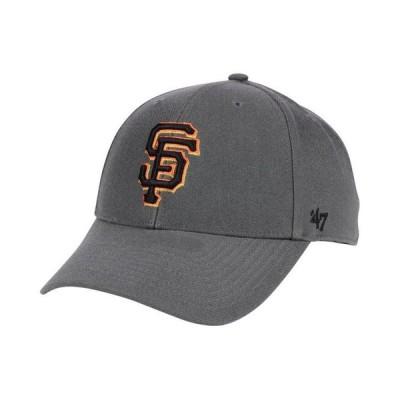 47ブランド メンズ 帽子 アクセサリー San Francisco Giants Charcoal MVP Cap