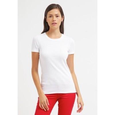 プチバトー レディース Tシャツ トップス Basic T-shirt - ecume ecume