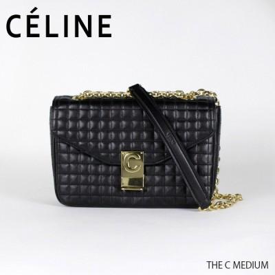 CELINE セリーヌ THE C MEDIUM  187253BFCミディアム キルティングレザー ショルダーバッグ