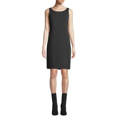 アクリス レディース ワンピース トップス Silk Crepe Shift Dress
