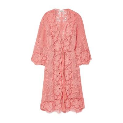 MIGUELINA ビーチドレス サーモンピンク M コットン 100% ビーチドレス