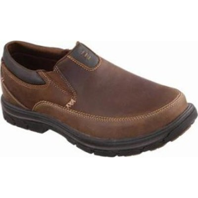 Skechers メンズシューズ Skechers Relaxed Fit Segment The Search Brown