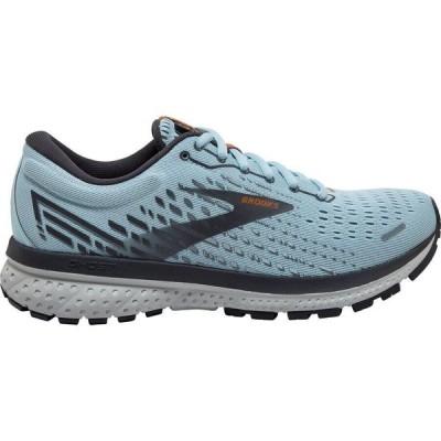 (取寄)ブルックス レディース ゴースト 13 ランニング シューズ Brooks Women Ghost 13 Running Shoe Running Shoes Light Blue/Blackened Pearl/Whit 送料無料