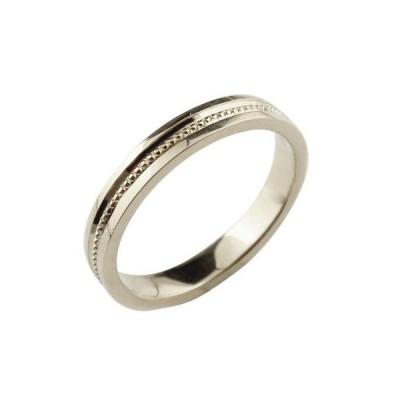 シルバーリング 指輪 地金リング ピンキーリング ミル打ち 宝石なし シンプル レディース ストレート 送料無料
