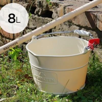 SCHALTEN バケット 8リットル ワイド ( シャルテン 8L バケツ 浅型 おしゃれ 掃除 用品 掃除道具 おそうじ 大掃除 シンプル サンカ )
