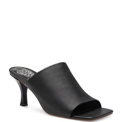 ヴィンスカムート レディース サンダル シューズ Arlinala Leather Dress Mules Black