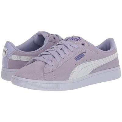 プーマ Vikky V2 レディース スニーカー Purple Heather/Puma White/Purple Corallites