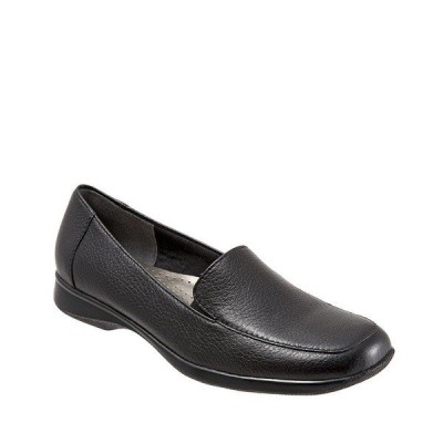 トロッターズ レディース サンダル シューズ Jenn Slip-On Leather Loafers Black