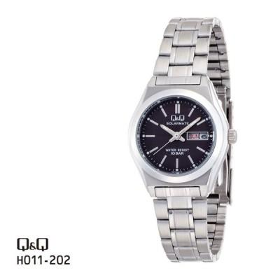 お取り寄せ シチズン Q&Q ソーラー電源 腕時計 ペア レディース H011-202 チプシチ