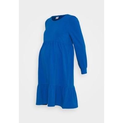 ママリシャス レディース ワンピース トップス MLCARLY DRESS  - Jersey dress - classic blue classic blue