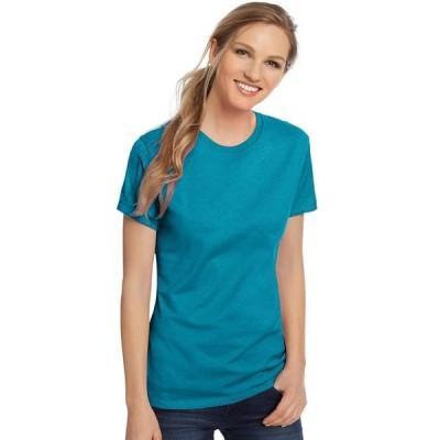 レディース 衣類 トップス Hanes Women's Nano-T(R) T-shirt - SL04 Tシャツ