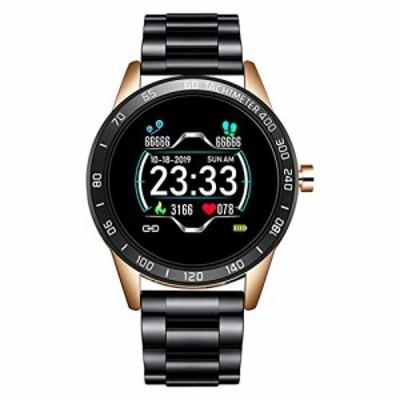 ZDY Smart Watch Men Pedometer Heart Rate Blood Pressure Monitor Waterproof Steel Belt Smartwatch Sport Multifunction ModeA