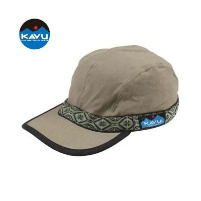 カブー KAVU ストラップキャップ オリーブ 帽子 キャップ キャンバスコットンキャップ アメリカ製