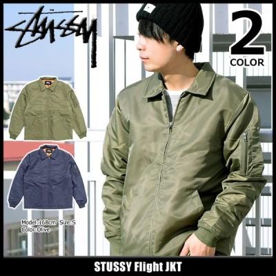 ステューシー ジャケット STUSSY メンズ Flight(stussy JKT フライトジャケット 中綿 アウター ブルゾン 男性用 115367)