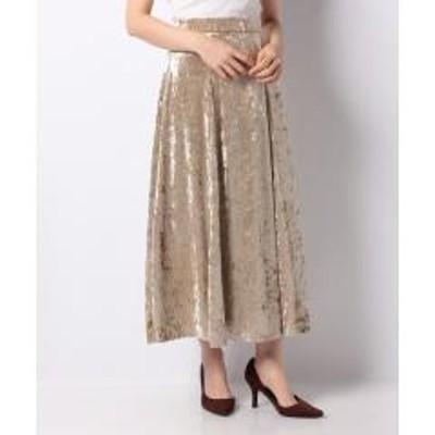 テチチ【Lugnoncure】クラッシュベロアマーメイドスカート