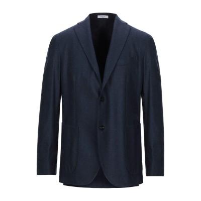 ボリオリ BOGLIOLI テーラードジャケット ダークブルー 48 バージンウール 100% テーラードジャケット