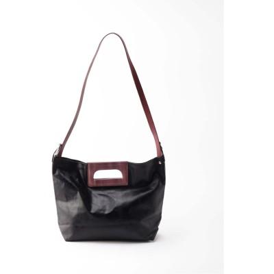 ボイスフロムベイクルーズ 【CHECCHI DE ROSSI】 MARKET BAG(M) ブラック フリー