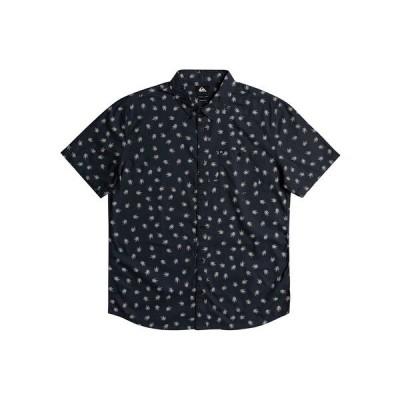 クイックシルバー シャツ トップス メンズ Men's Killer Print Short Sleeve Shirt India Ink