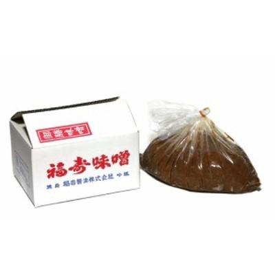 送料無料 徳島の醤油しょうゆ 赤みそ 3.5kg 調味料 福寿醤油 ショウユ/ 贈り物 グルメ ギフト 母の日