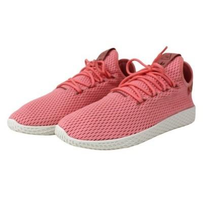【10月5日値下】adidas × PHARRELL WILLIAMS PW TENNIS HU BY8715 スニーカー ピンク サイズ:26.5c