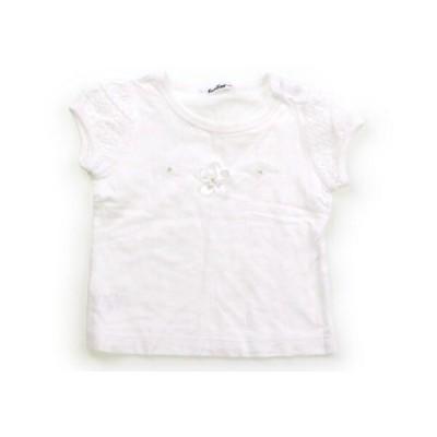 ファミリア familiar Tシャツ・カットソー 90サイズ 女の子 子供服 ベビー服 キッズ