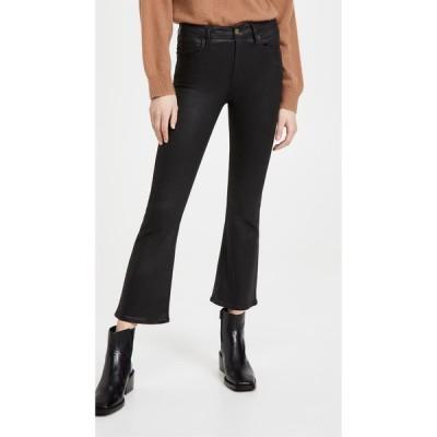 フレーム FRAME レディース ジーンズ・デニム ボトムス・パンツ Le Crop Mini Boot Coated Jeans Noir Coated