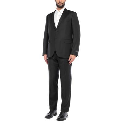 TOMBOLINI スーツ ブラック 56 バージンウール 100% スーツ