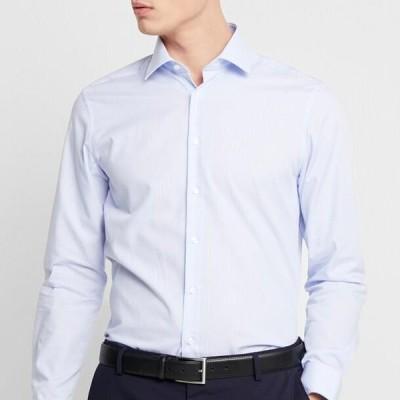 メンズ ファッション SLIM FIT - Shirt - light blue