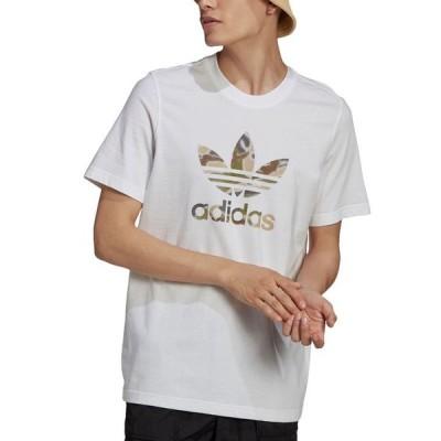 アディダス メンズ Tシャツ トップス adidas Men's Originals Camo Trefoil T-Shirt