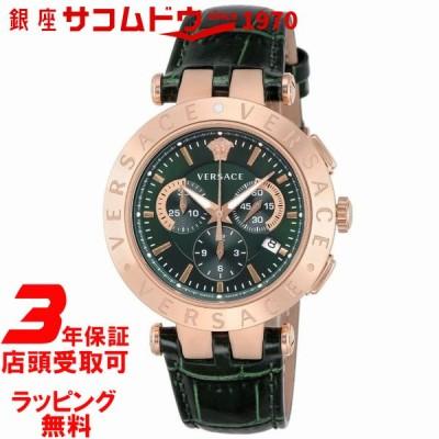 店頭受取対応   VERSACE ヴェルサーチ V-RACE CHRONO VERQ00420 腕時計