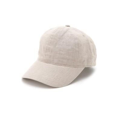 帽子 キャップ リネンキャップ