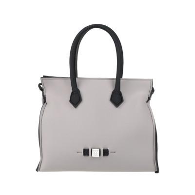 SAVE MY BAG ハンドバッグ グレー ポリエーテル 50% / ナイロン 40% / ポリウレタン 10% ハンドバッグ