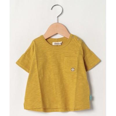 【キムラタン】 半袖Tシャツ キッズ イエロー 80 KIMURATAN